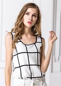 Plaid Blanc Pas Cher : grossiste camisoles femme pas cher vente en gros camisoles femme en ligne page 5 ~ Teatrodelosmanantiales.com Idées de Décoration