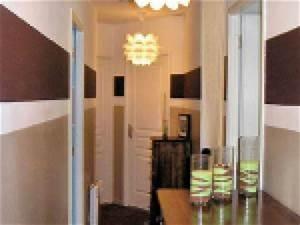 photo deco peinture entree et couloir par deco With peinture entree et couloir