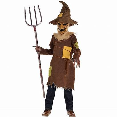 Scarecrow Scary Costume Boys Costumes Party Boy