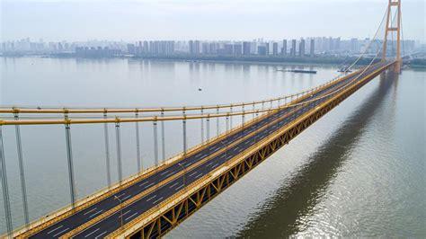 Worlds Longest Double Deck Suspension Bridge Opens To