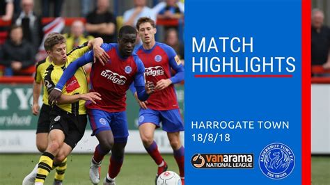 Match Highlights: Shots vs Harrogate Town - 18 Aug 2018 ...
