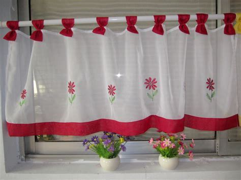 Short Kitchen Curtains Lace White : Short Kitchen Curtains