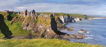 his and wedding dunluce castle