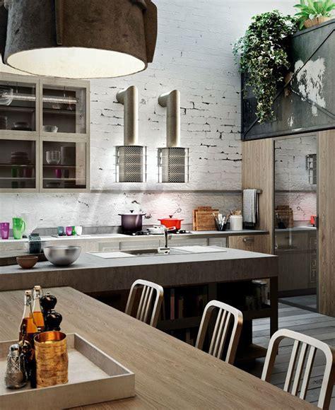 Loft Style Kitchen Design by Michele Marcon   InteriorZine