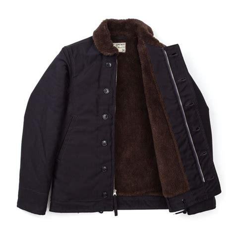 the real mccoy s n 1 deck jacket navy