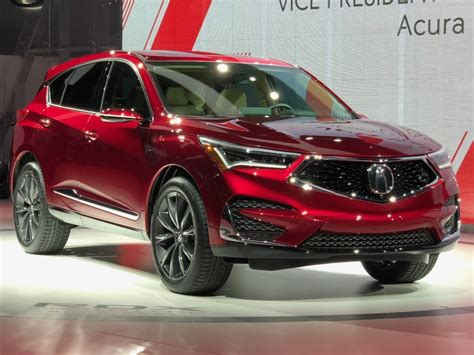 2019 Acura Rdx Aspec Teased Ahead Of Its Nyc Debut The
