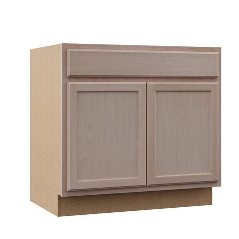 unfinished kitchen cabinet boxes assembled 36x34 5x24 in sink base kitchen cabinet in 6613
