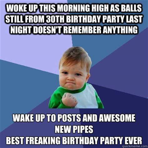 Funny 30th Birthday Meme - success kid memes quickmeme