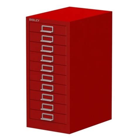 10 multi drawer bisley filing cabinet brand new