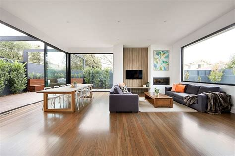 Creative Renovation Gives Modern Life To An Existing Frame : Modern Renovation Transforms Melbourne's Brick Federation