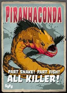 PHOTO First look at Syfy's Piranhaconda