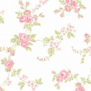 Floral Print in Pink, Green, and White - AB27658