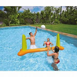 Jeu De Piscine : filet de volley gonflable pour piscine intex jeu de ~ Melissatoandfro.com Idées de Décoration