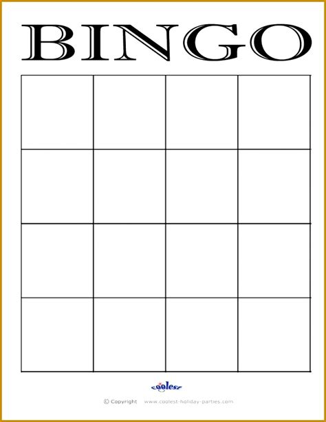 bingo sheet template fabtemplatez