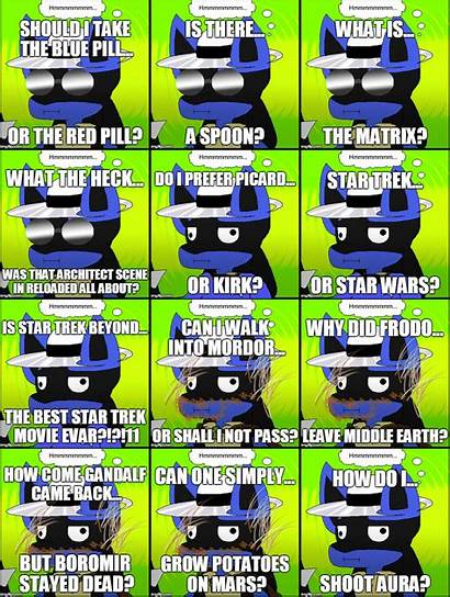 Lucario Memes Hmmm Batch Unownace Nick Deviantart