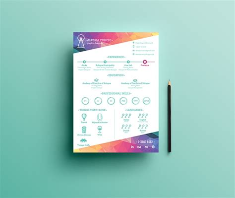 Activity Resume Habib by 15 Eye Catching Resume Templates That Will Get You Noticed