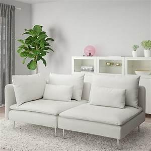 söderhamn sofa with open end finnsta white ikea