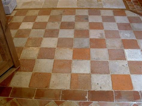antique terracotta tile floor houses flooring picture