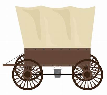 Wagon Clipart Animated History Breakfast Geocaching Nevada