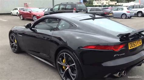 Jaguar Type R by Jaguar F Type R Black 2014