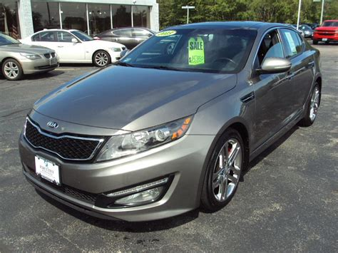 Gurnee Kia by 2013 Kia Optima Sxl Sxl Stock 1483 For Sale Near