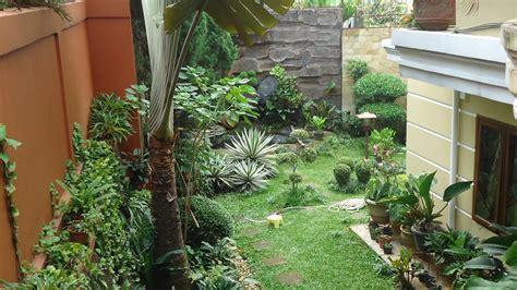 indahnya taman rumah membuat betah  rumah udara