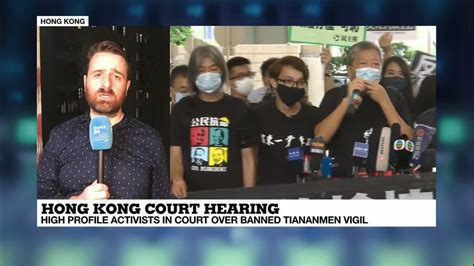 Hong Kong activists front court over Tiananmen Square ...