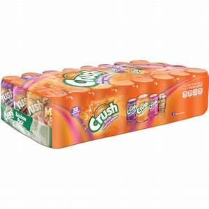 Crush Rainbow Pack Soda 32  355ml