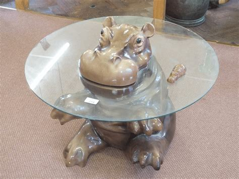 glass top hippo coffee table design easyhometipsorg