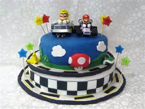 gamer cake topper the best way to celebrate the release of mario kart 8