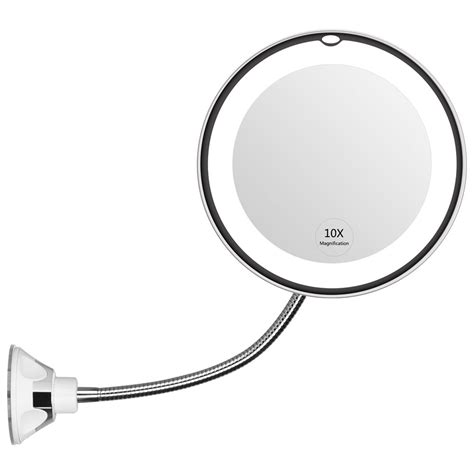 Bathroom Suction Mirror by Kedsum Gooseneck 6 8 Quot 7x Magnifying