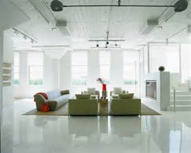 flooring and decor loft apartment decorating ideas glossy floors and