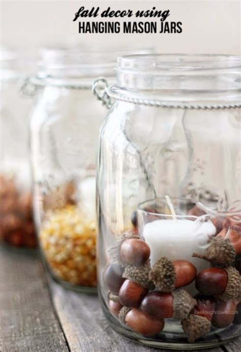 mason jar crafts  fall