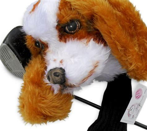 cavalier king charles spaniel golf club headcover golf