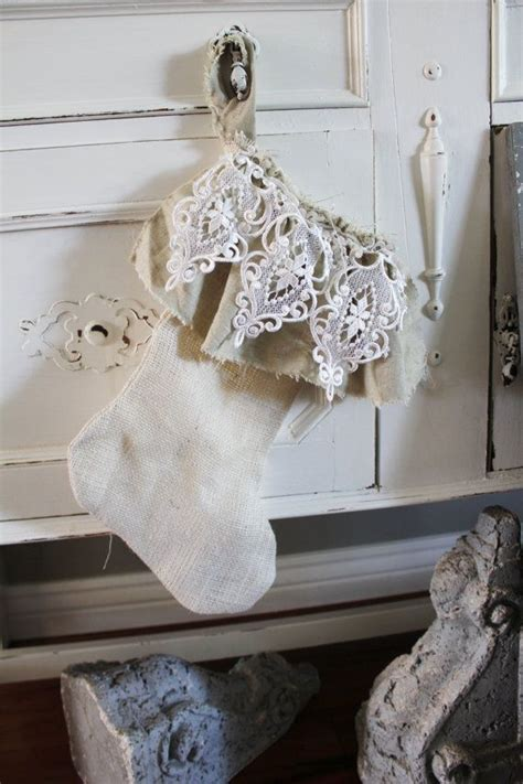 beautiful shabby chic christmas decorations ideas