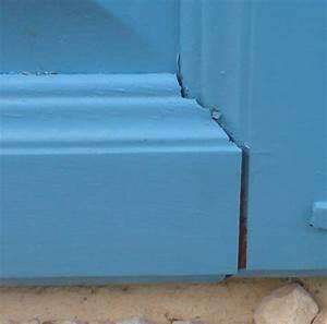 reparer une porte endommagee par leau forum menuiseries With reparer porte en bois enfoncee