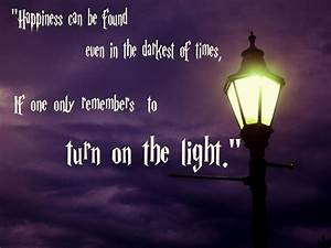 dumbledore quotes about light quotesgram With lamp light quotes