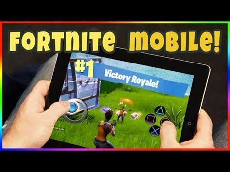fortnite  mobile tablet    fortnite mobile