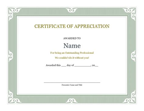 Certificate Template Powerpoint by Certificate Powerpoint Template Certificates Office