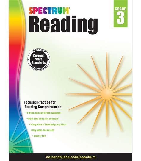 Spectrum Reading Workbook Grade 3  Carsondellosa Publishing