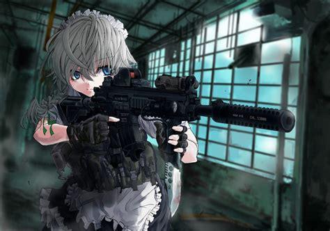anime gun wallpapers  wallpaperplay