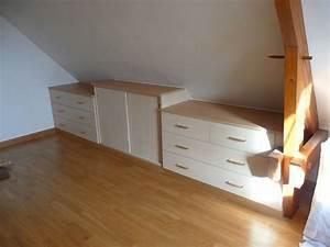 Commode Sous Pente : 1000 images about meubles rangement sous pente en carton ~ Edinachiropracticcenter.com Idées de Décoration