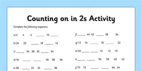 counting   worksheet counting worksheet  numbers