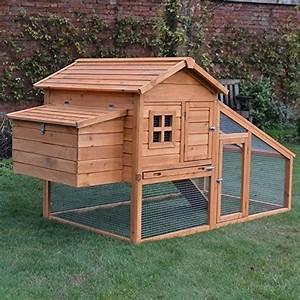 Plan Poulailler 5 Poules : poulailler en bois 5 volailles avec rampe d 39 acc s et ~ Premium-room.com Idées de Décoration