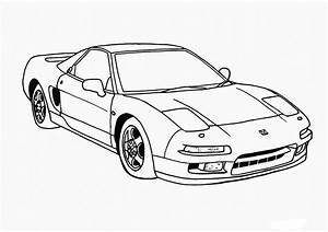 car coloring pages best coloring pages for kids With clic volvo sports car