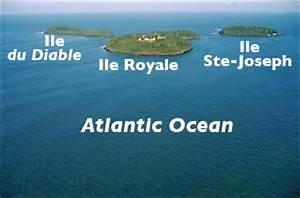 Guiana Island Map