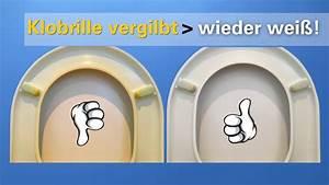 Reinigen Mit Backpulver : vergilbte klobrille leicht reinigen toilettensitz von gelb nach hell youtube ~ Watch28wear.com Haus und Dekorationen