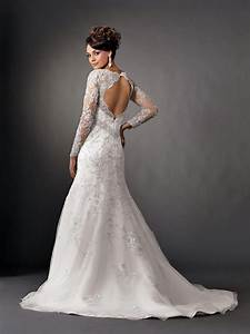 elegant photos of beautiful mermaid wedding dresses with With sleeves for wedding dress