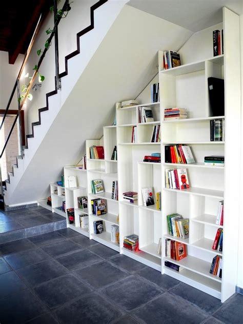 super creative  stairs storage ideas shelves