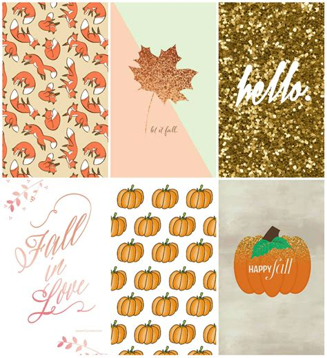 Artsy Mac Backgrounds Fall by Autumn Inspired Iphone Wallpapers Milk Tea